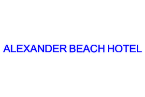 Alexander Beach Hotel - Sea View