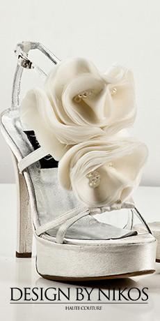 Design by Nikos - Νυφικά παπούτσια