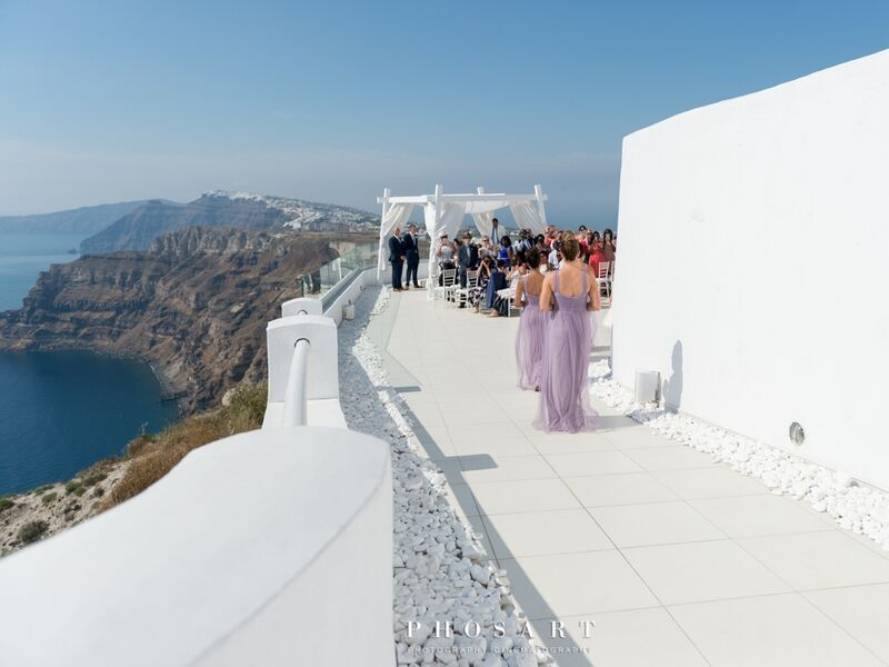 Santo wines white wedding Santorini wedding 1