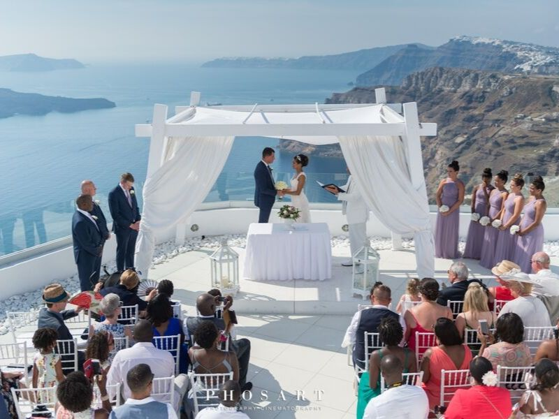 Santo wines white wedding Santorini wedding 3
