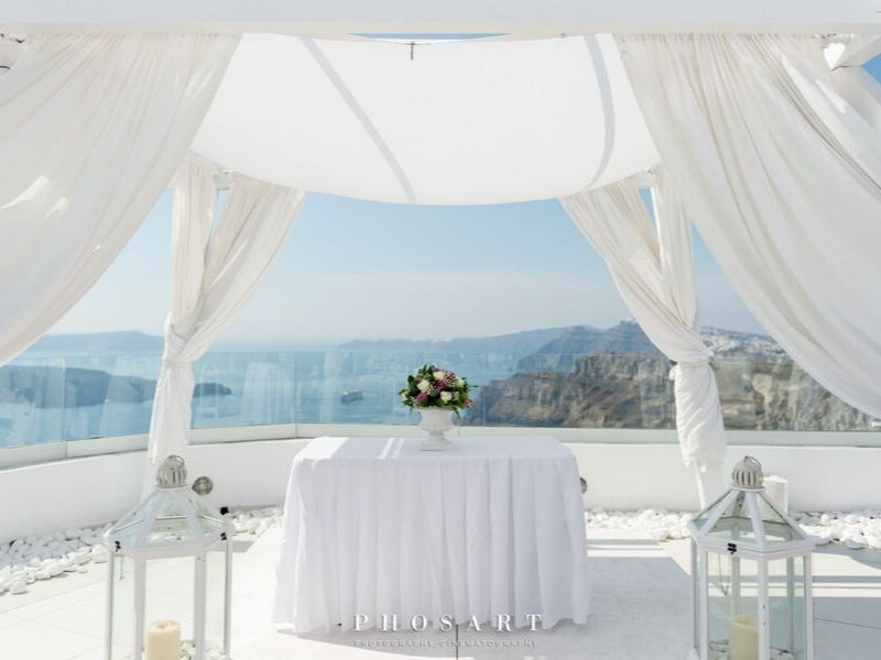 Santo wines white wedding Santorini wedding 5