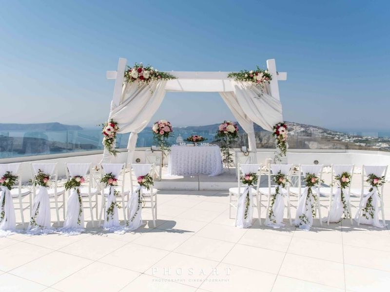 Santo wines white wedding Santorini wedding 7