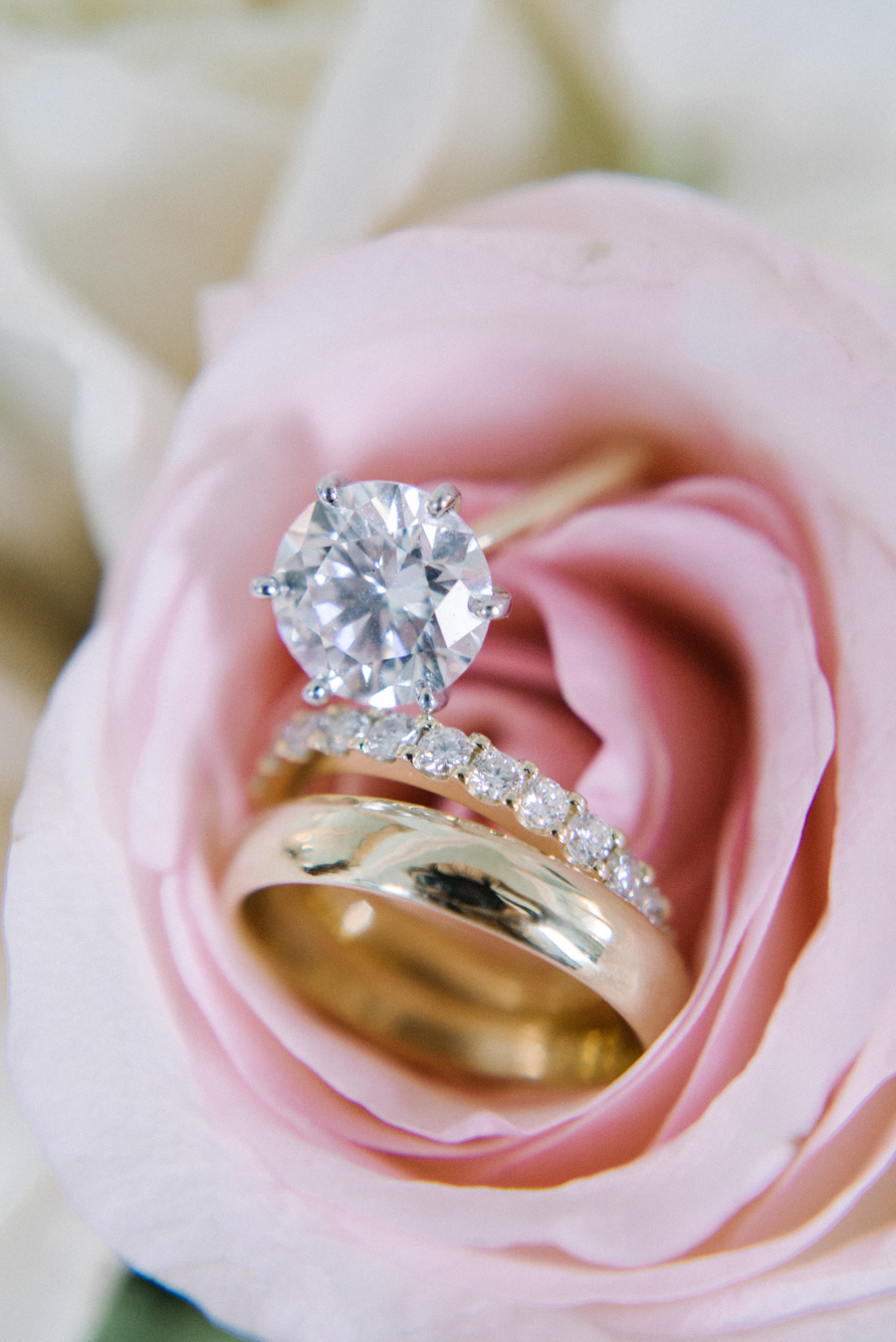 the road to happiness diamond wedding ring