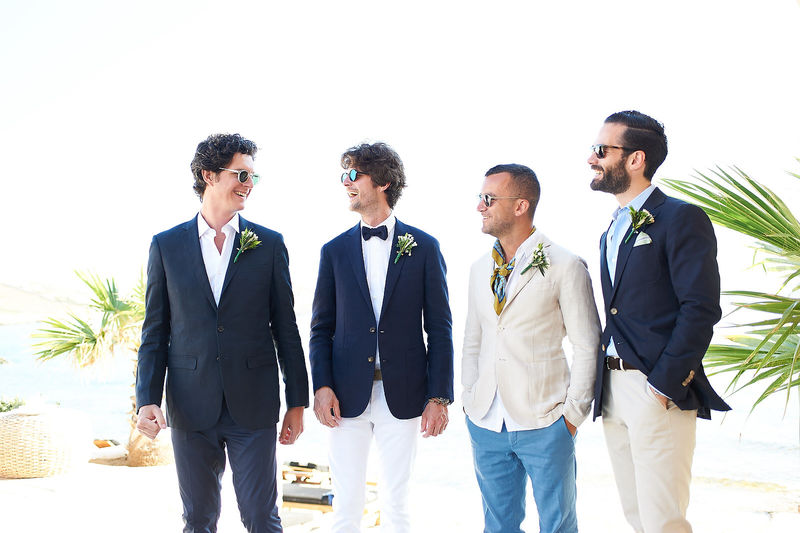 mykonos beach boho wedding 0174