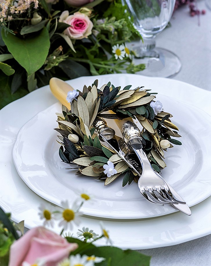 «Garden Style» για μία υπέροχη ρομαντική δεξίωση!
