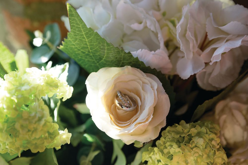 tryfonas wed wedding rings in flowers part a 7